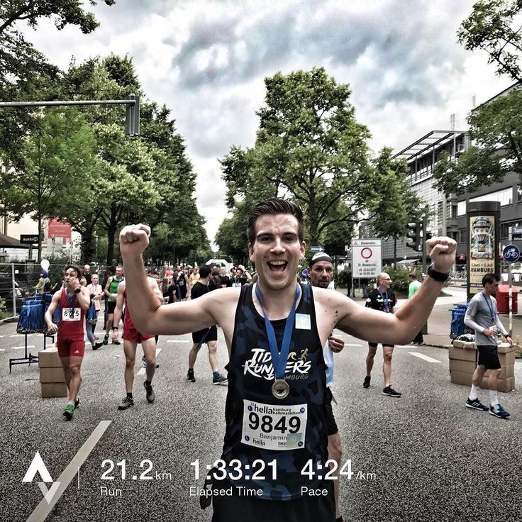Hella Halbmarathon  Nice run with an amazing cheerzone  #lovepaceandhharmony #tiderunnershh