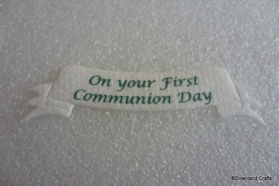 Communion Banner Die Cuts