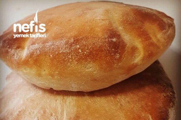 Ev Yapımı Pita Ekmeği Veya Gobit