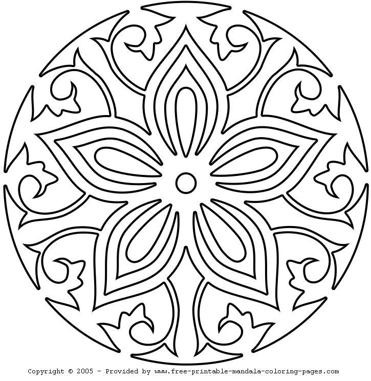 25 unique mandala coloring pages ideas on - Mandala Coloring Pages Free