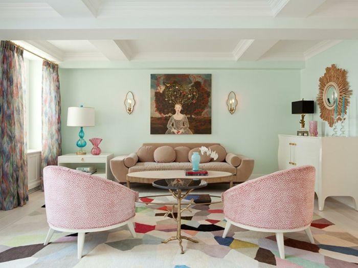 Die besten 25+ Hellgrüne schlafzimmer Ideen auf Pinterest Grüne - wohnzimmer braun mint