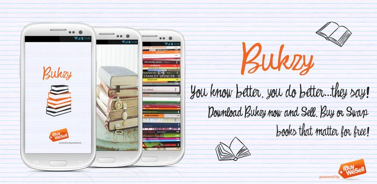 You know better, you do better...they say! Download Bukzy now and Sell, Buy or Swap books that matter for free!