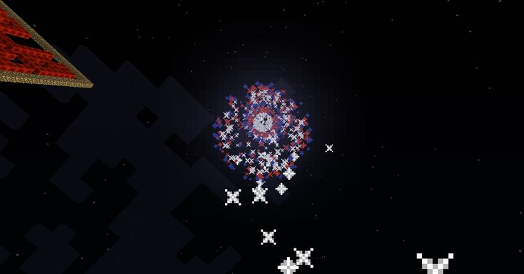 I made the coolest minecraft firework ever!