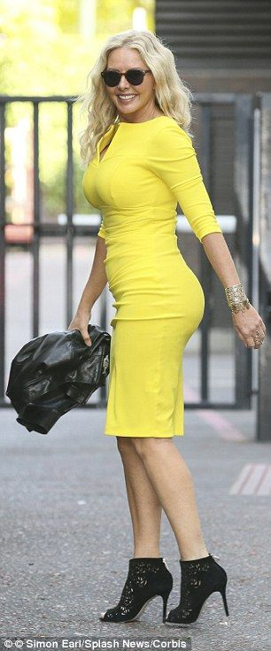 Carol Vorderman's colourful choice didn't quite add up