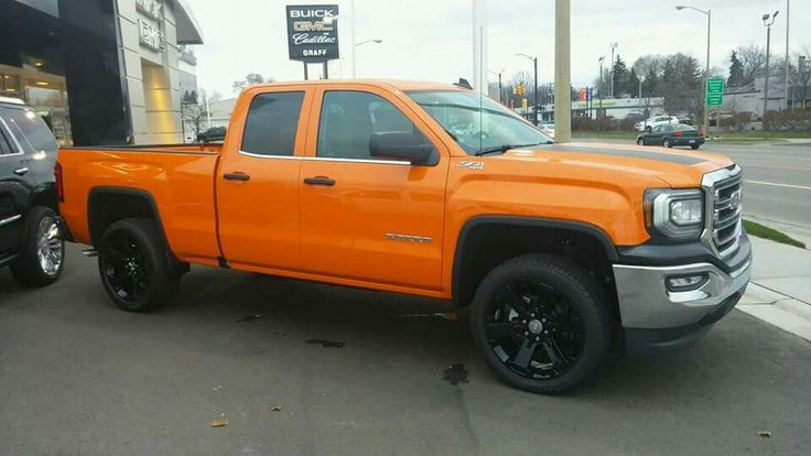 2016 GMC Sierra 1500 Z71 in Tangier Orange. | new pickup ...