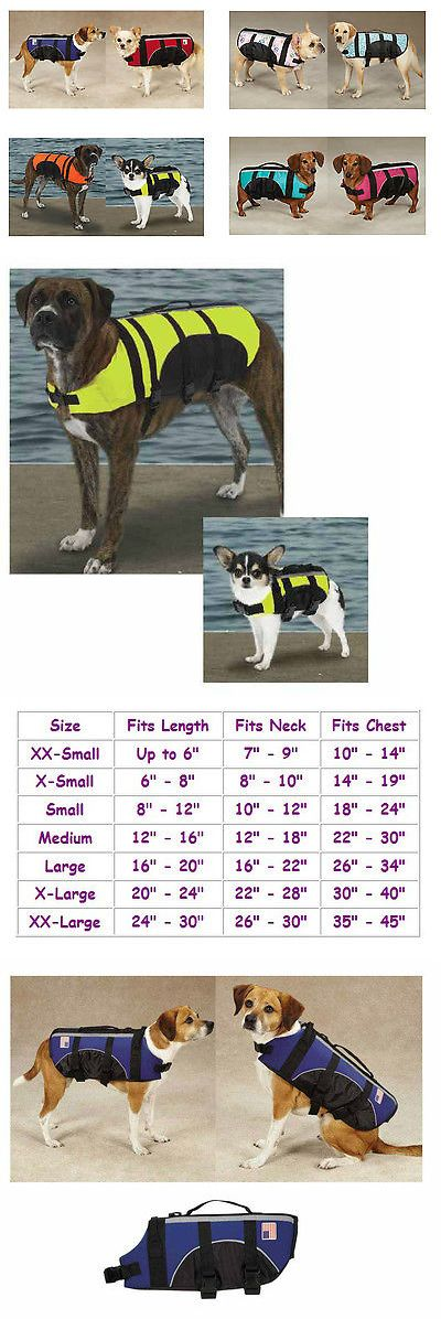 Safety Vests and Life Preservers 117427: Dog Life Jacket Aquatic Pet Preserver Water Safety Vests For Dogs Swim Vest -> BUY IT NOW ONLY: $30.5 on eBay!