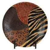 Bantu Tribal Charger Plate