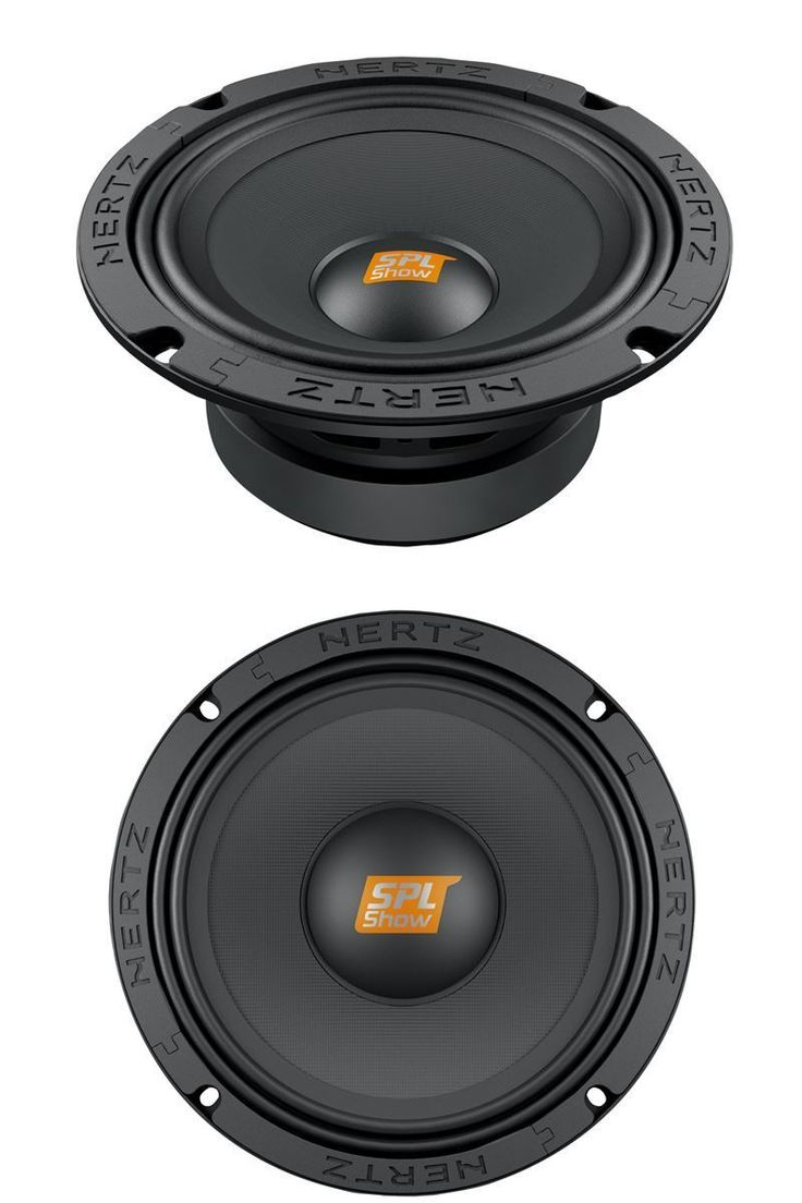 Car Speakers and Speaker Systems: Pair Hertz Sv165.1 Car Audio 6.5 Spl Show Mids 400W Midrange 4 Ohm Speakers -> BUY IT NOW ONLY: $251.99 on eBay!