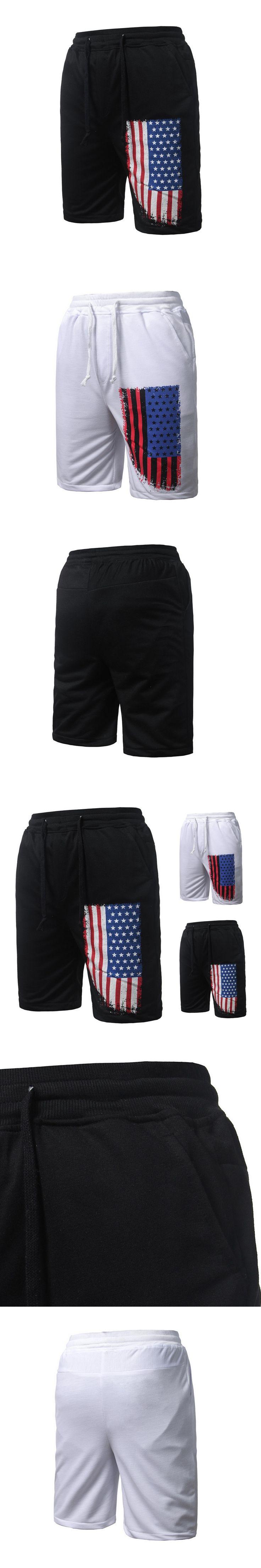 Summer Men Beach Pants Leisure Trend Printed Men\'s Fitness  FS99
