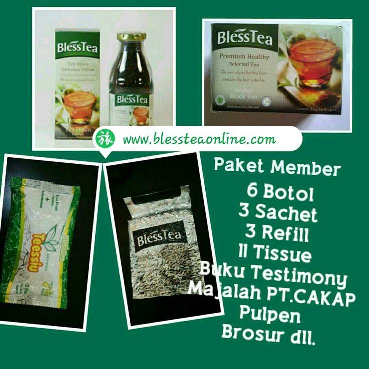 Blesstea minuman kesehatan Dunia