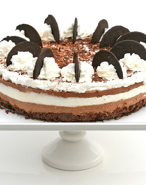 triple chocolate mousse cheesecake | Cheesecakes | Pinterest