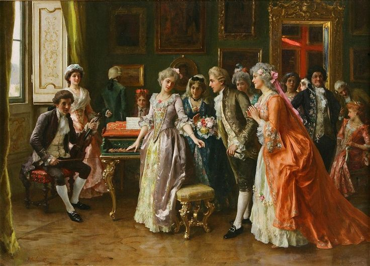 FEDERICO ANDREOTTI, Italian artist (1847- 1930) - The ...