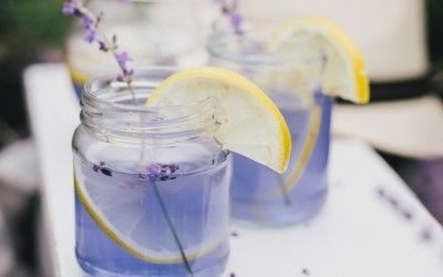 How To Make All Natural Lavender Lemonade To Reduce Anxiety and Headaches