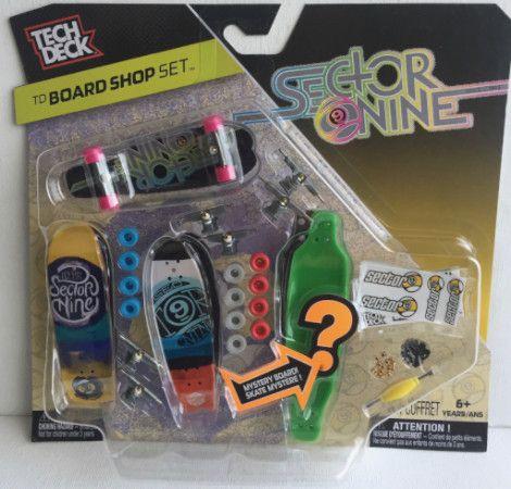 Tech Deck TD Board Shop Set Sector Nine Skateboards