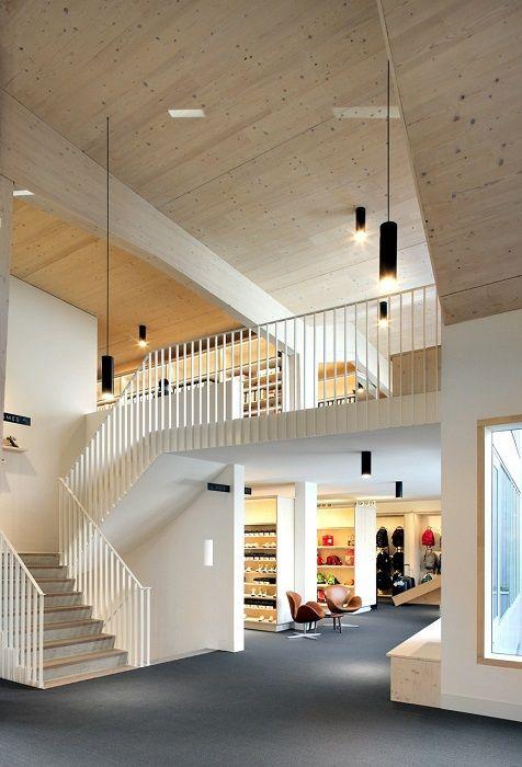25 beste idee n over hout architectuur op pinterest architectuur en moderne architectuur - Moderne massieve bureau ...