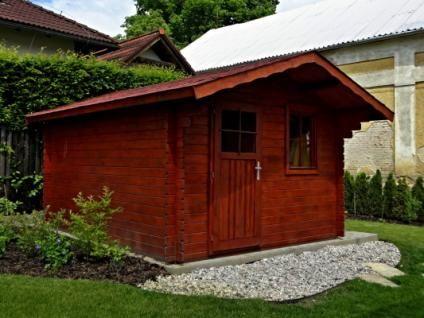 Zahradní domky Laura EKO - Laura EKO 300x300 28 mm