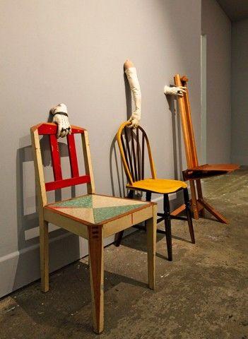 Karl Fritsch, Martino Gamper and Francis Upritchard Gesamtkunsthandwerk 2011. Govett-Brewster Art Gallery installation