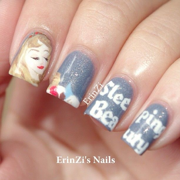 Sleeping Beauty Nail Art: 25+ Best Ideas About Princess Nail Art On Pinterest