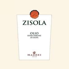 olio etichetta bianca semplice con timbro di cera