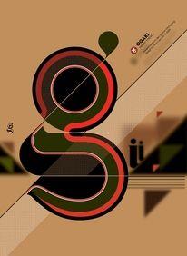 Ogaki typeface on the Behance Network