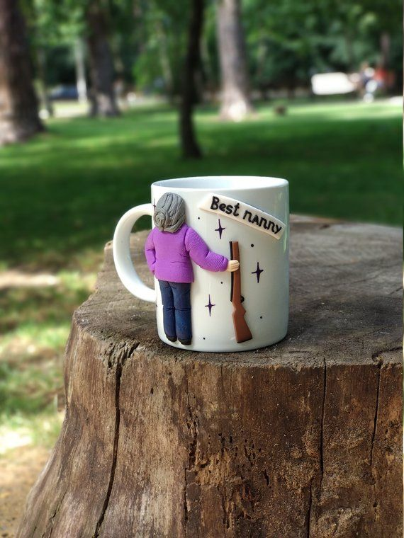 Nanny Birthday Gift Grandma Mug