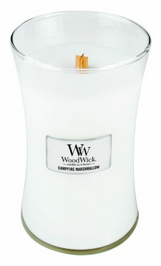 NEW - *Campfire Marshmallow WoodWick Candle 22 oz. $18.95