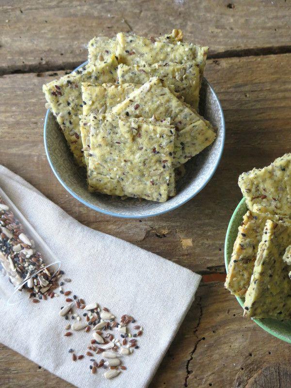 Crackers integrali di semi