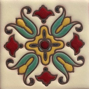 spanish colonial colors revival paint palette homes mediterranean decor tile