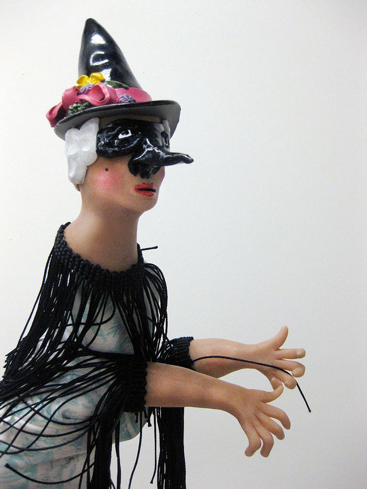Hand puppet by Canadian artist Lindsay Montgomery 2010