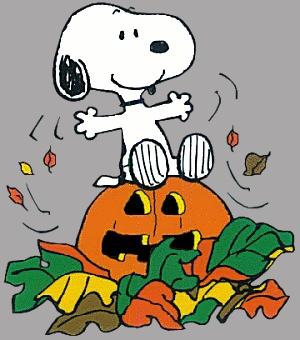 Snoopy on Halloween