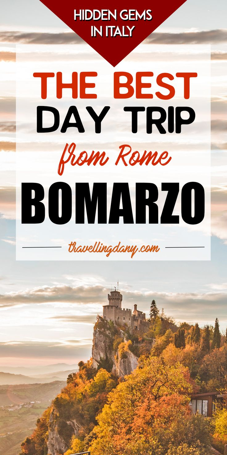 The best landmarks in Italy can be found off the beaten path, and make you fall head over heels in love with la Bella Italia. Let's explore the Bomarzo Monster Park, with its spooky statues scattered into a sacred grove. Tickets, information and the best pictures from a local.   #italy #italiandays #rome #travel #travelmore #vacation