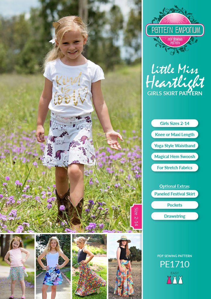 Introducing the little miss version of one of our most popular patterns: the Little Miss Heartlight. This s...