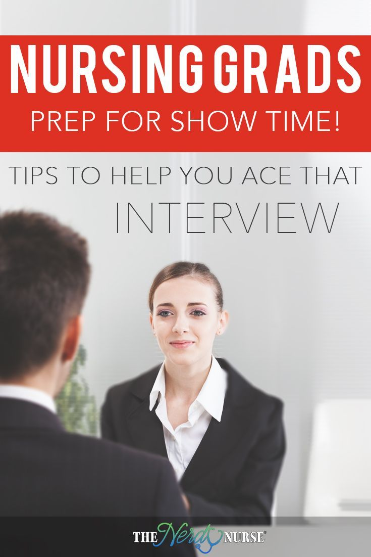 Are you a new graduate from nursing school?  Time to get ready to ace that interview with these nurse interview tips.