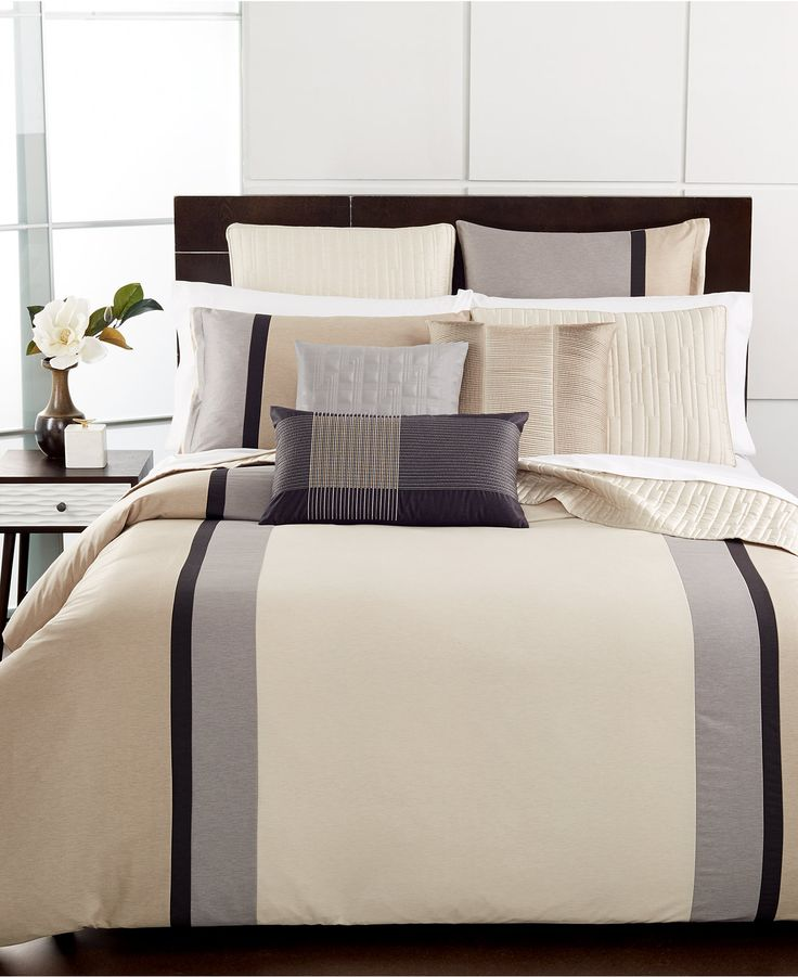 Hotel Collection Manhattan Stripe Bedding Collection