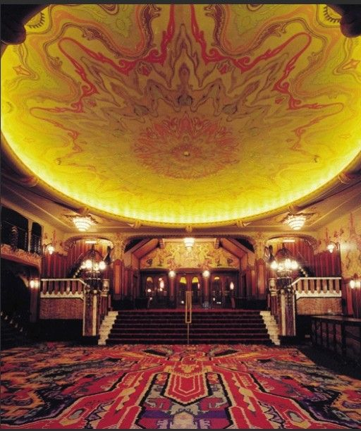 Pathé Tuschinski - Movie Theater - Amsterdam