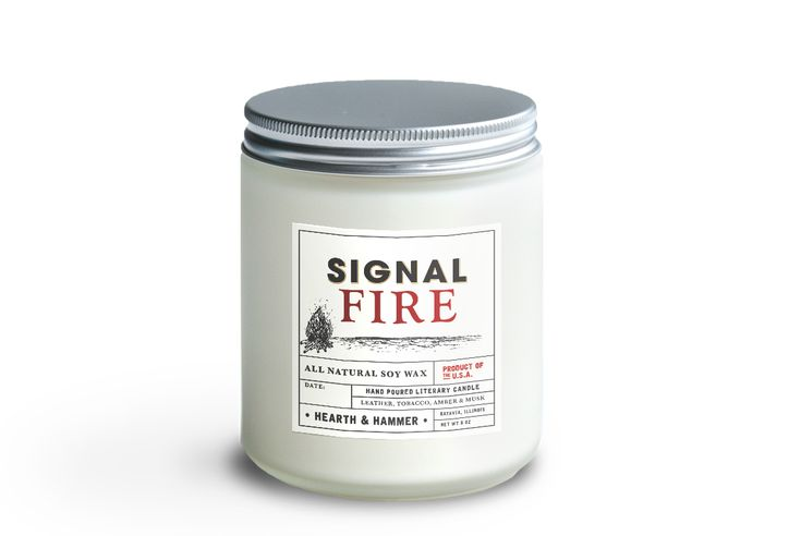Signal Fire Literary Candle – Hearth & Hammer