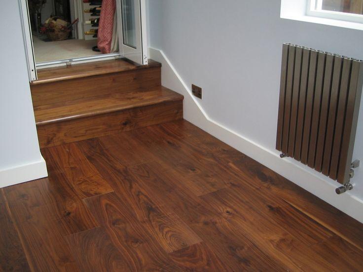 Oiled Walnut Stair Nosing