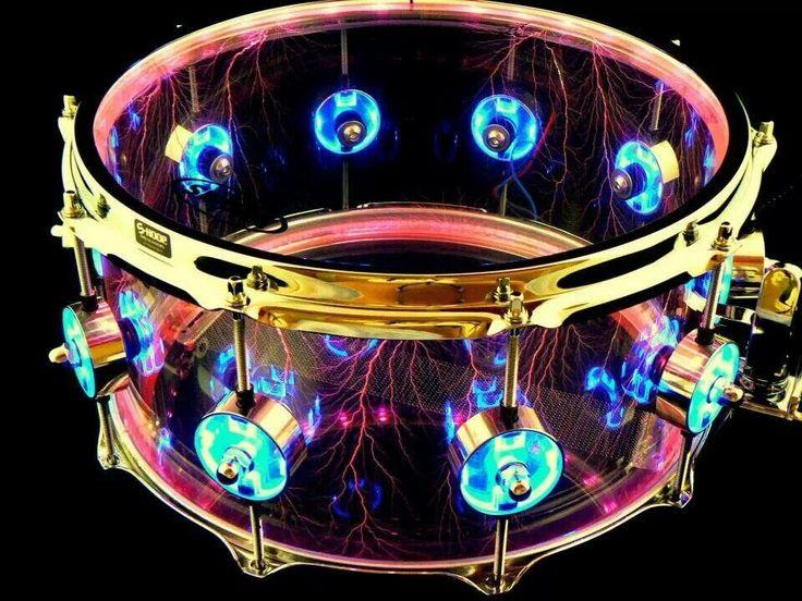 Bright snare drum