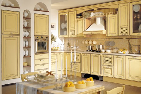 Yellow kitchens have always made sense to me--they feel warm, happy, and yummy.
