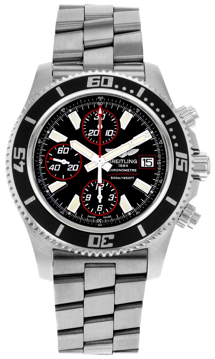 Breitling Superocean Chronograph A1334102/BA81-134A: A1334102/BA81-134A NEW BREITLING SUPEROCEAN CHRONOGRAPH II… #Watches #AuthenticWatches ...repinned für Gewinner!  - jetzt gratis Erfolgsratgeber sichern www.ratsucher.de