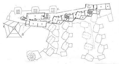 Primera planta Geschwister-Scholl-Gesamtschule Lünen // Hans Scharoun #Scharoun #Lünen #Geschwister #schule #architecture #arquitectura #alemania