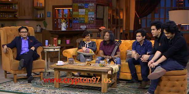 Ayushita, Pujiono & Personil The Overtunes di Ini Talkshow 21 oktober 2014