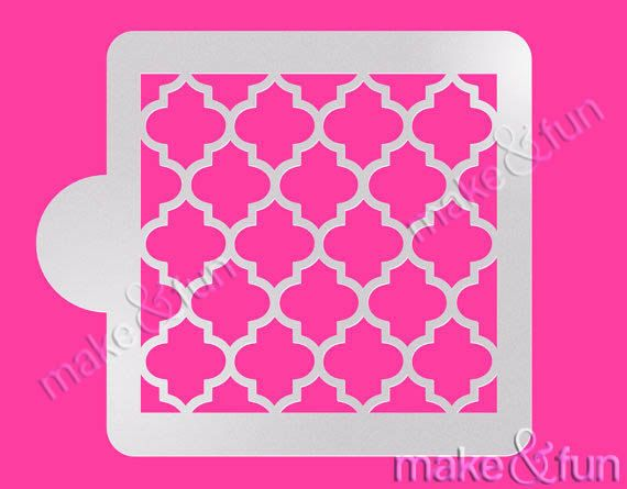 1000+ Ideas About Cake Stencil On Pinterest