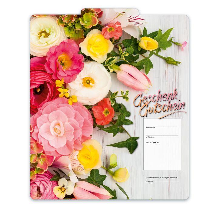 Bestell-Nr. BL251, Multicolor-Geschenkgutscheine für alle Branchen und Anlässe!