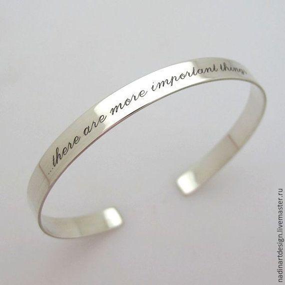 """Купить Браслет """"Романтическое послание"""".Изящное серебряное украшение на заказ - серебряный, браслет, браслет на руку"""