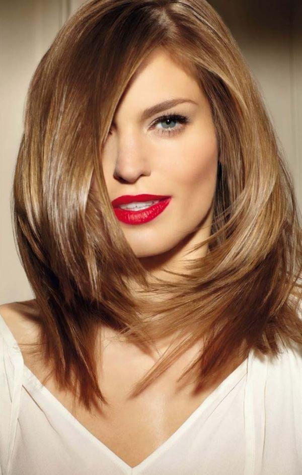 2017 Omuz Hizası Saç Modelleri