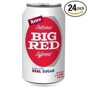 Big Red Soda Drink