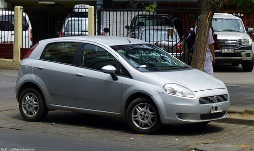 Fiat Punto (Mercosur) - Santiago, Chile