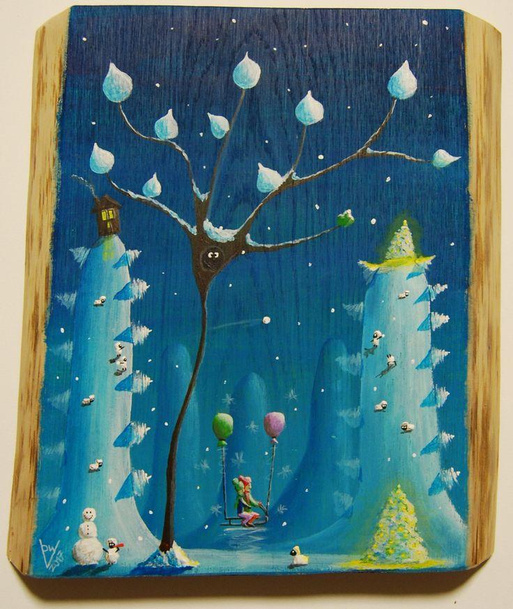 """""""me 13"""" Paweł Widera original paintings, acrylic on wood"""