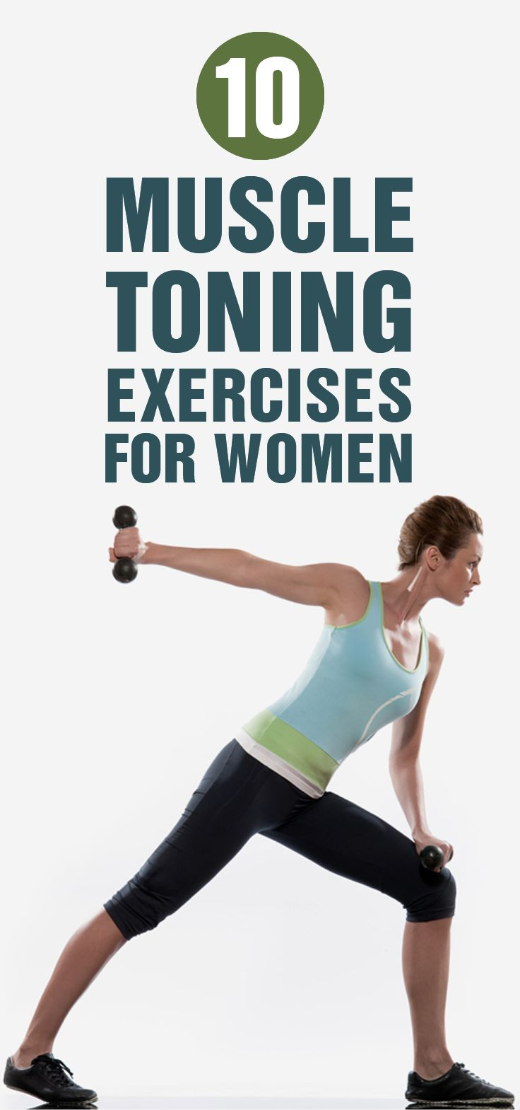 10 Muscle Toning Exercises For Women